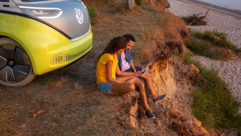 vehiculo electrico volkswagen id Buzz