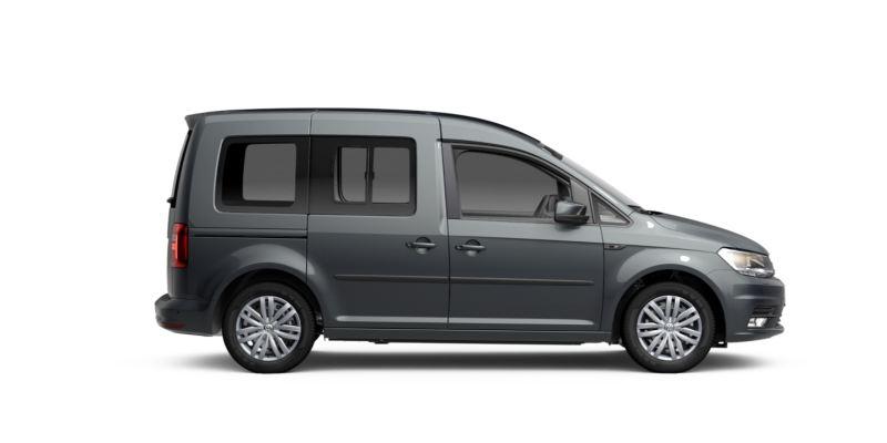Volkswagen Caddy GNC visto de costado