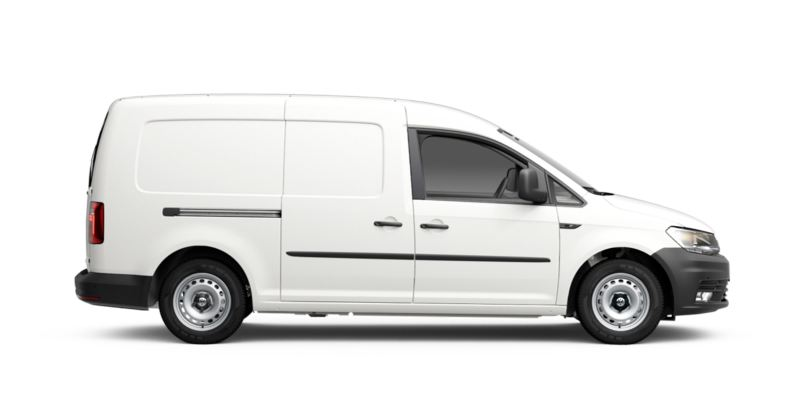 Volkswagen Caddy Maxi GNC visto de costado
