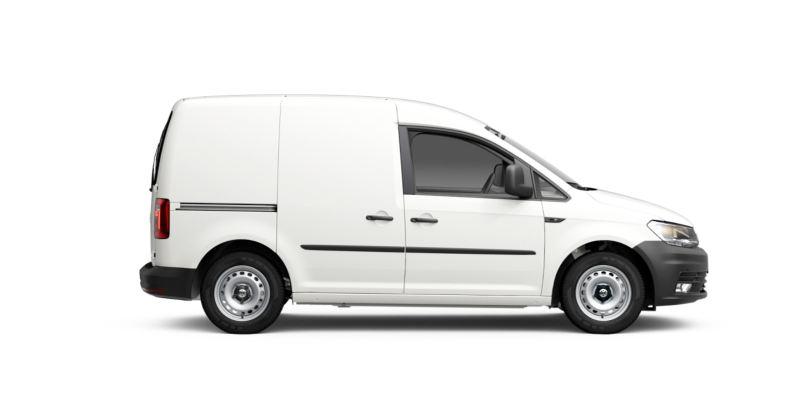 Volkswagen Caddy Furgón visto de costado