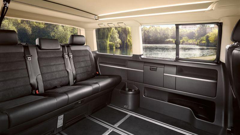 diseño interior de volkswagen multivan