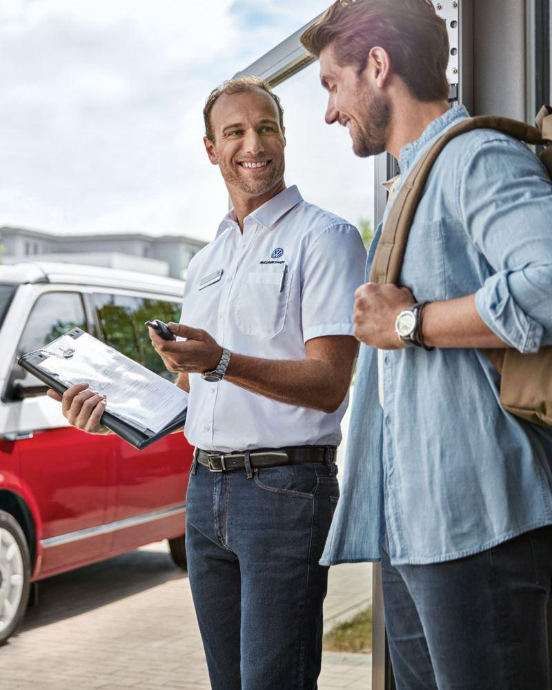 volkswagen comerciales rent a car
