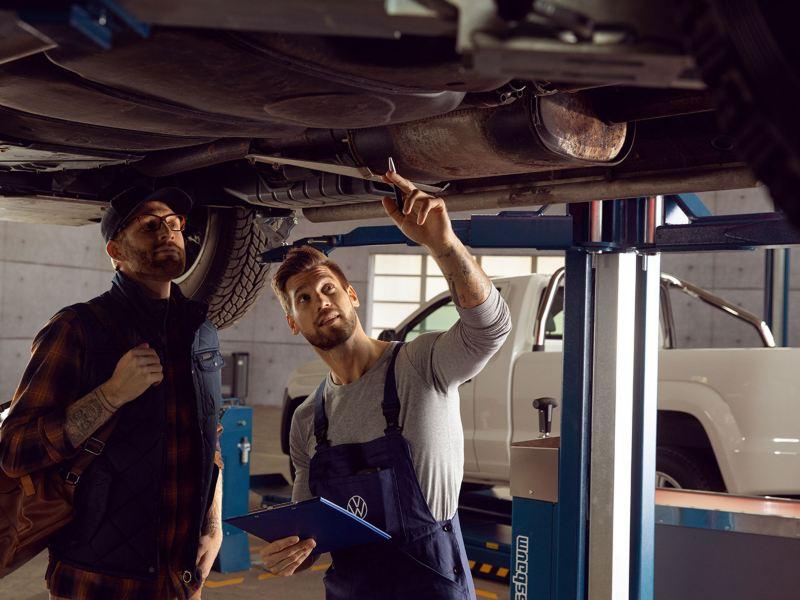 volkswagen comerciales chequeo de seguridad