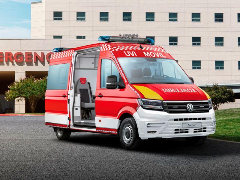 carrozados volkswagen ambulancia
