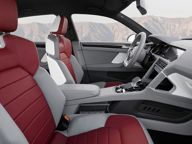 The cross coupe interior