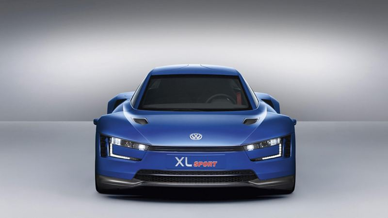 The XL1 sport from the front