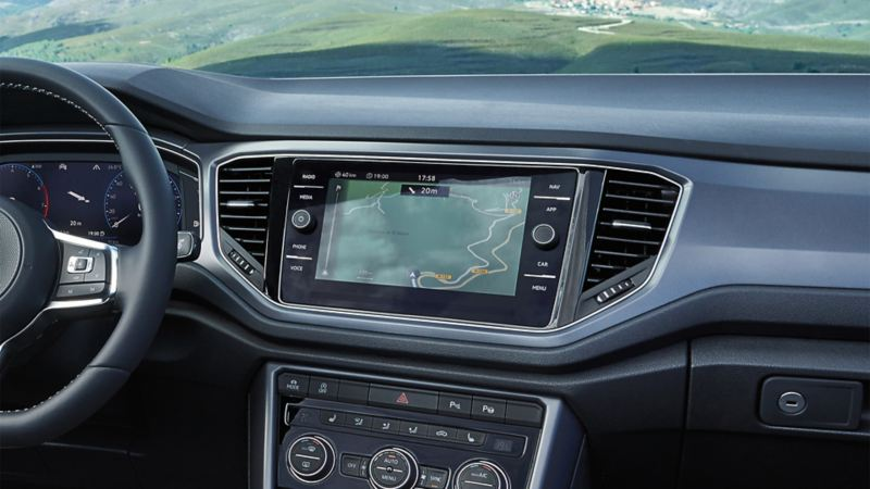 In car navigation system in your VW