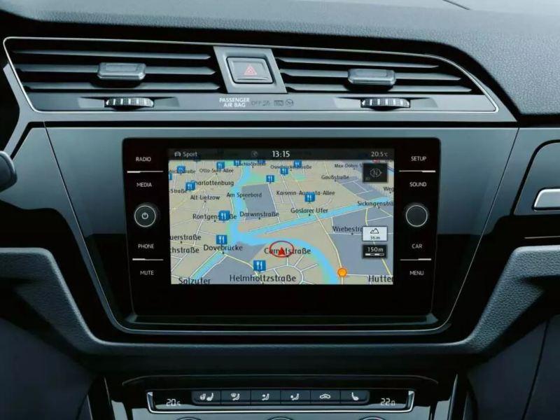 Système de Navigation Touran