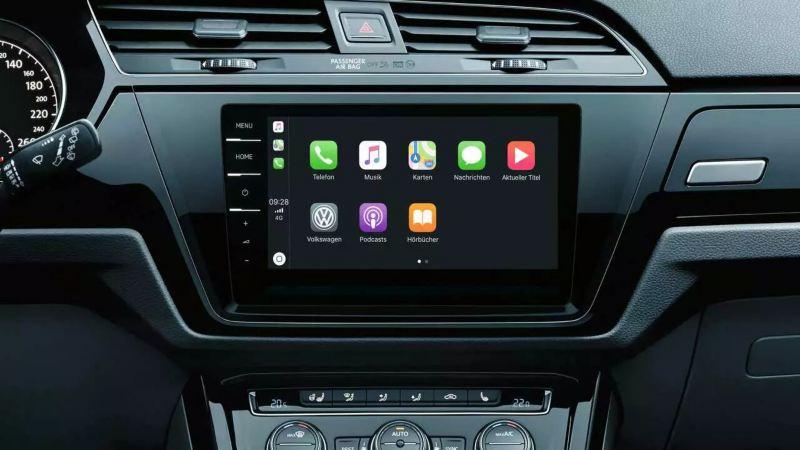 Car-Net 'App-Connect' Touran