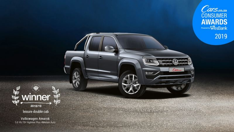 cars.co.za consumer award winner amarok