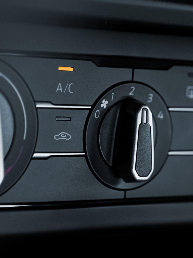 Control de aire acondicionado de Nuevo Virtus de Volkswagen