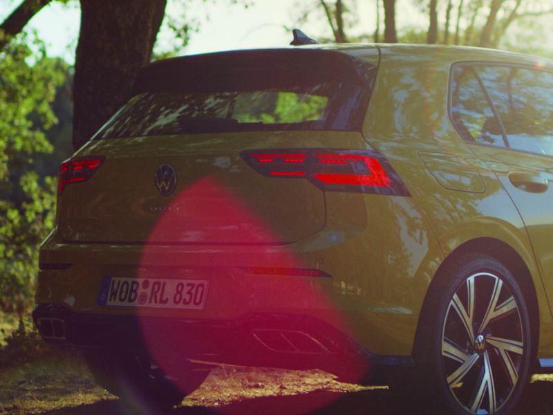 VW Golf Rückansicht
