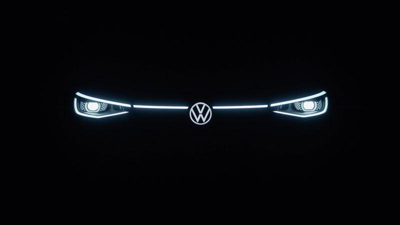 Front lystene på Volkswagen ID.4 SUV
