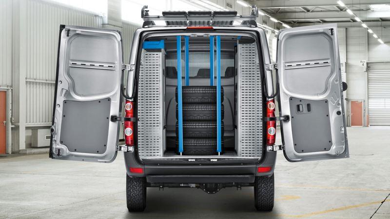 Volkswagen Crafter inredningsmöjligheter