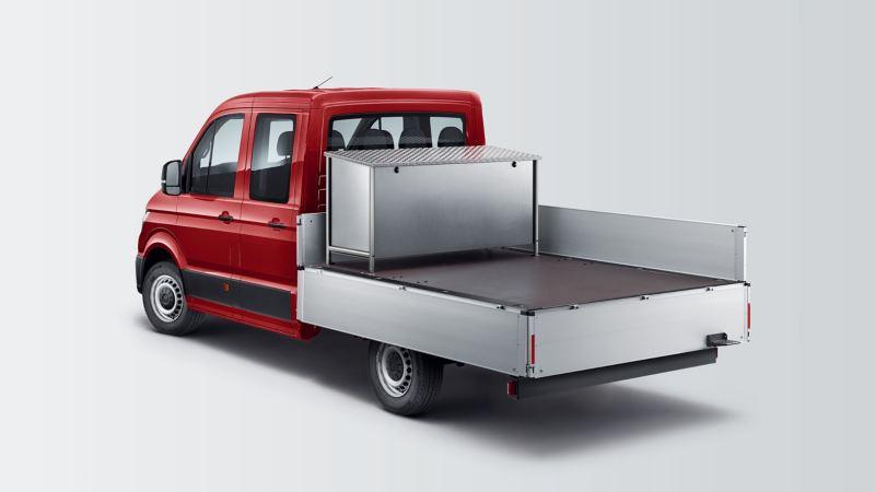 Volkswagen Crafter 35 Skrzyniowy z podwójną kabiną.