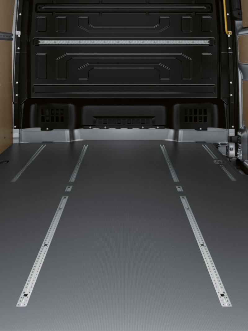 Lastutrymme i VW Crafter lätt lastbil