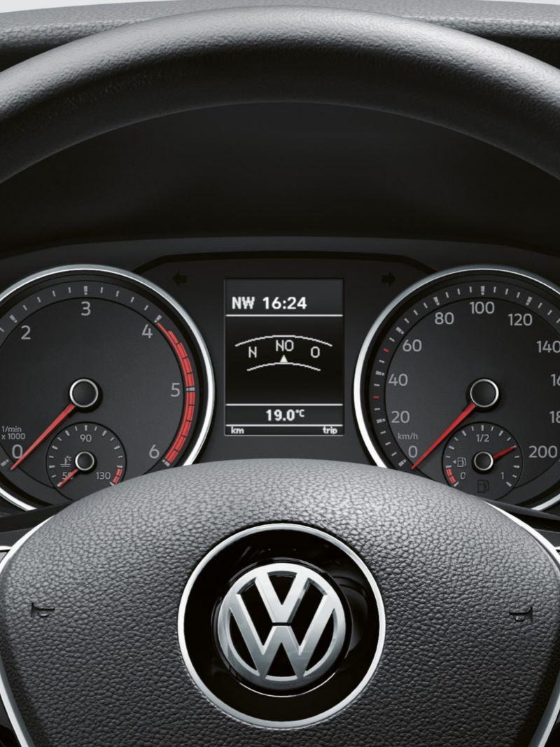Multifunktionsratt i VW Crafter lätt lastbil