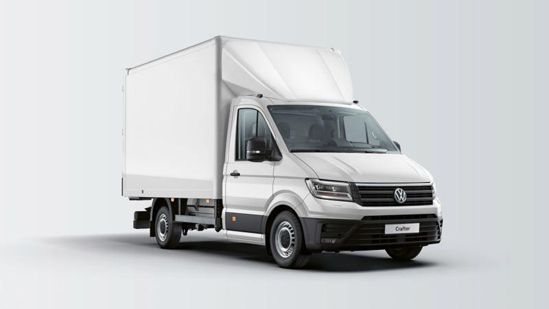 vw Volkswagen Crafter stor skapbil ombygg påbygg