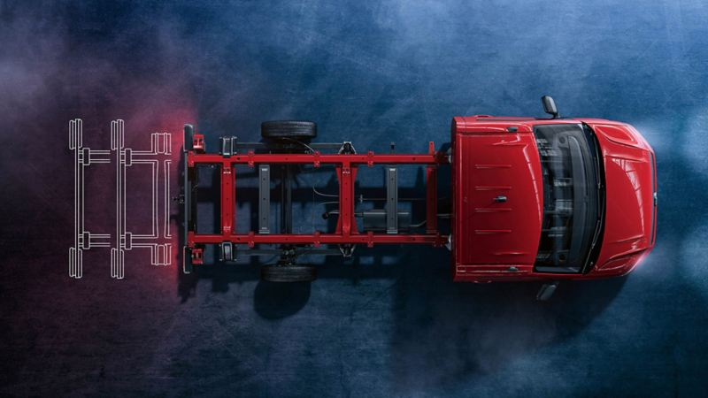 vw Volkswagen Crafter stor skapbil ombygg påbygg chassis