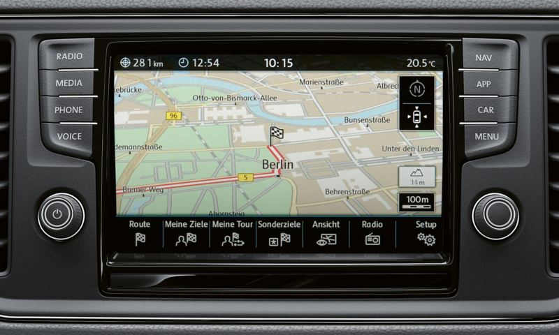 Discover Media navigationssystem i Grand California