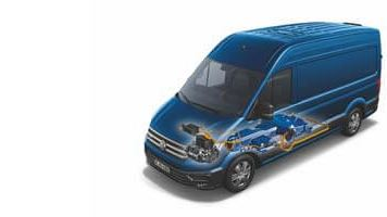 Transporter Caddy e-Crafter ville