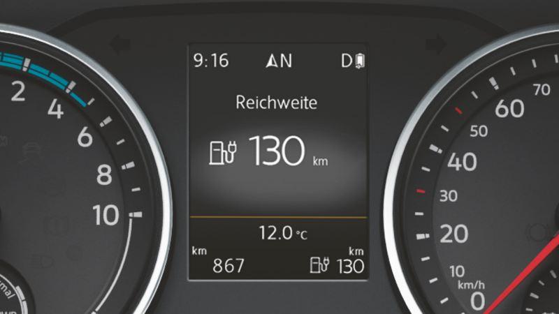 vw Volkswagen e-Crafter el varebil elektrisk varebil elbil elvarebil miljøvennlig grønn budbil bud sjåfør rekkevidde