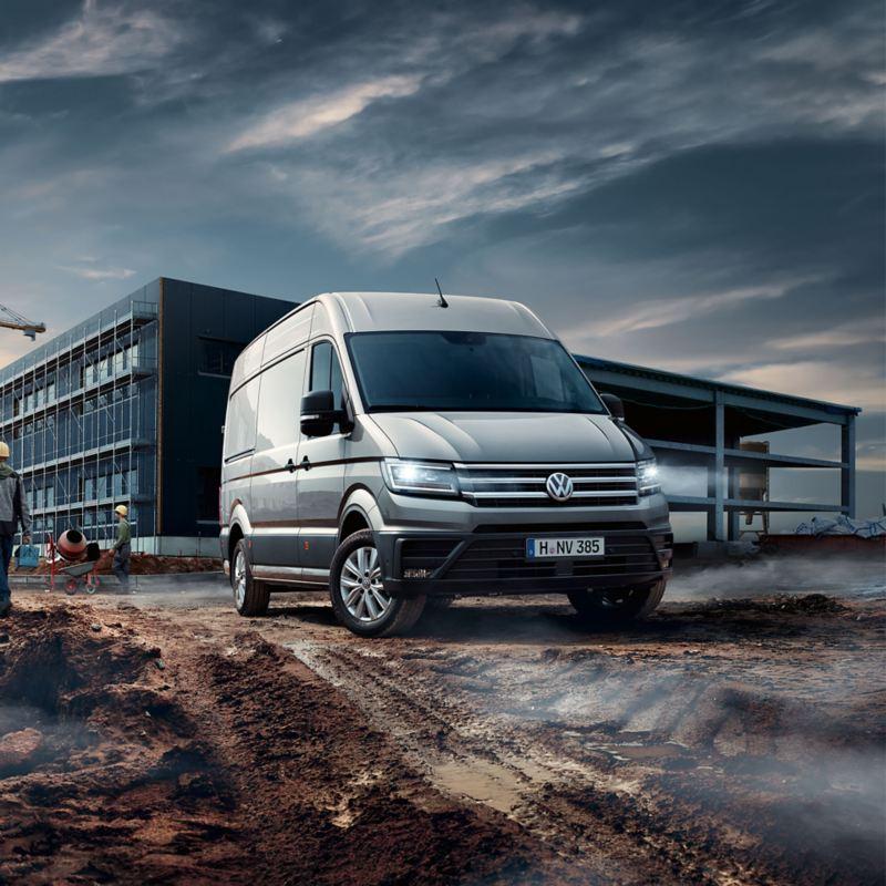 Crafter Van Volkswagen Véhicules Utilitaires Chantier