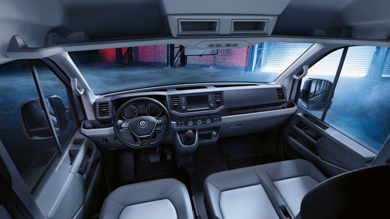 vw Volkswagen Crafter førerhus varebil kassebil budbil arbeidsbil firmabil 4x4 firehjulstrekk 4MOTION parkeringsvarmer parkvarmer