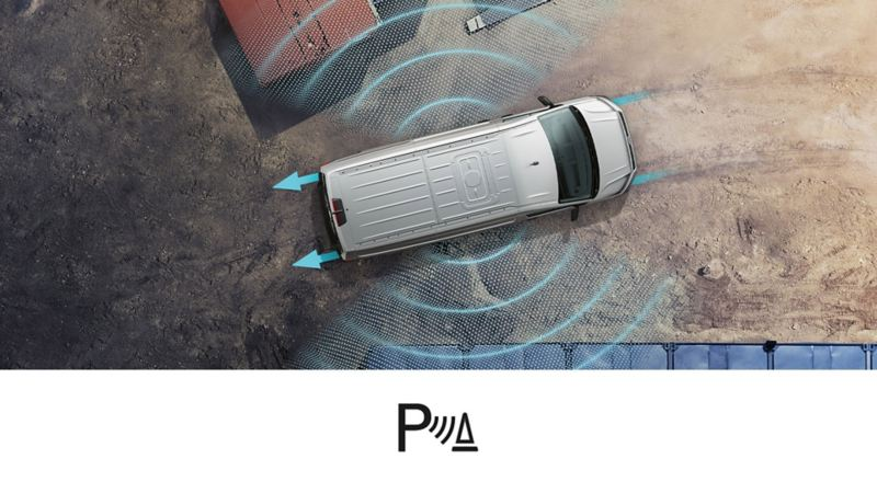 vw volkswagen førerassistentsystem assistentsystem sikkerhetssystem sideprotection 3-seter crafter stor varebil kassebil