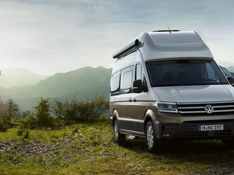 Volkswagen Grand California husbil perfekt för camping