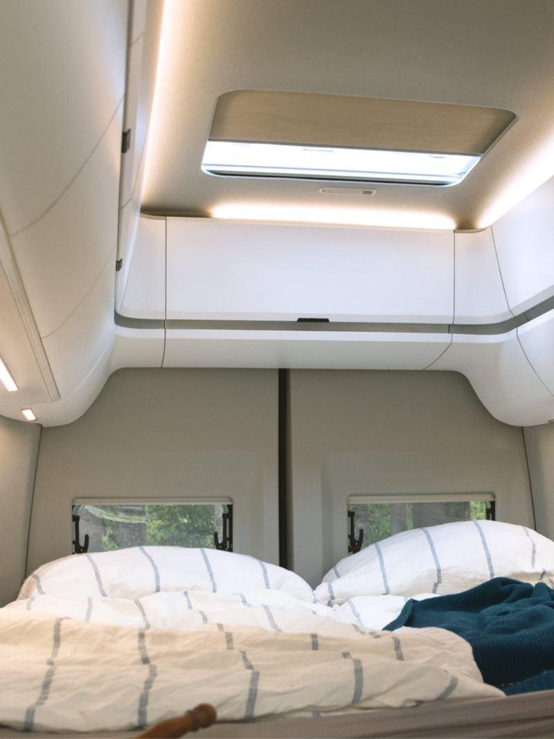 Sovrum i Grand California husbil