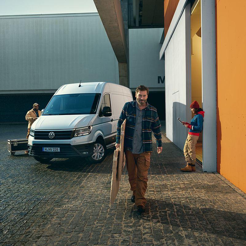 Volkswagen Véhicules Utilitaires Crafter gamme déchargement
