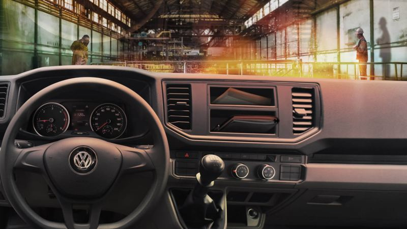 Crafter Chasis 3.5t. interior cabina
