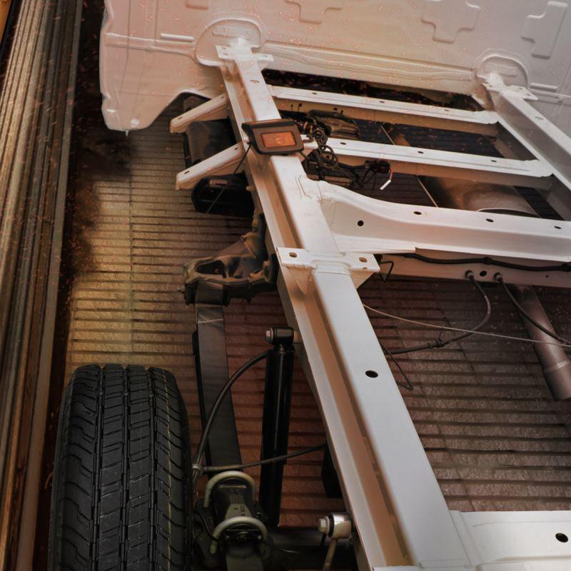 Volkswagen Crafter Chasis 3.5t.