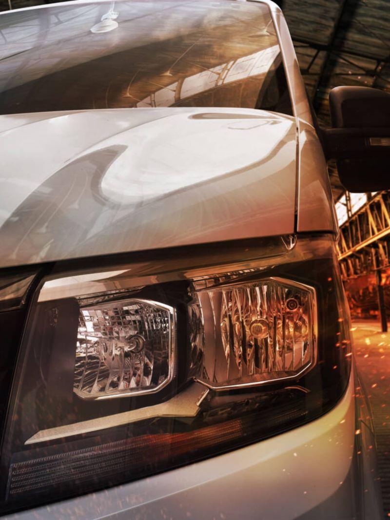 Volkswagen Crafter Chasis 3.5t. vista frontal