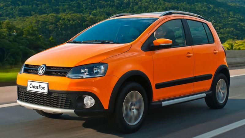 CrossFox Volkswagen - Auto descontinuado con alto rendimiento de combustible