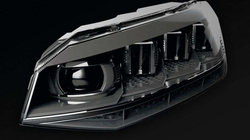 Volkswagen Touareg lys oppbygning