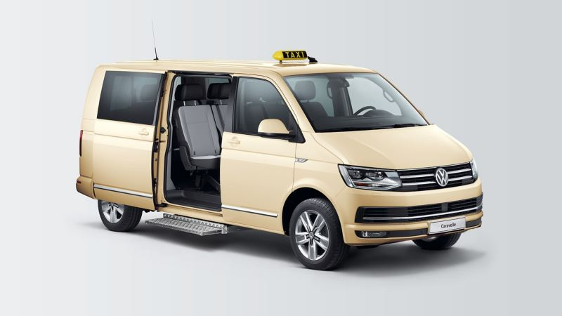 Volkswagen Caravelle Comfortline z długim rozstawem osi (duża taksówka).