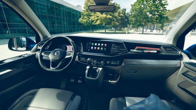 Volkswagen vw Caravelle interiør førerhus