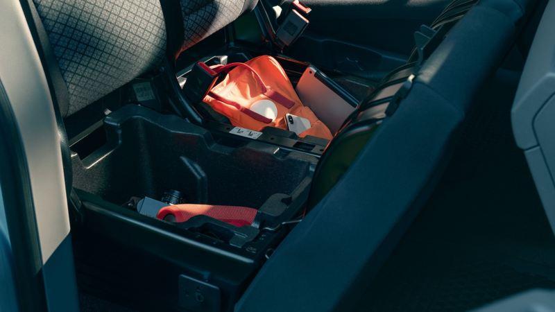 Gott om plats i VW Caravelle minibuss