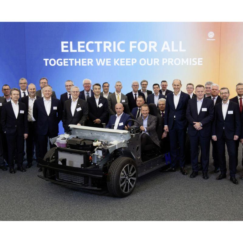 Volkswagen i dostawcy rozpoczęli odliczanie do premiery modelu ID.