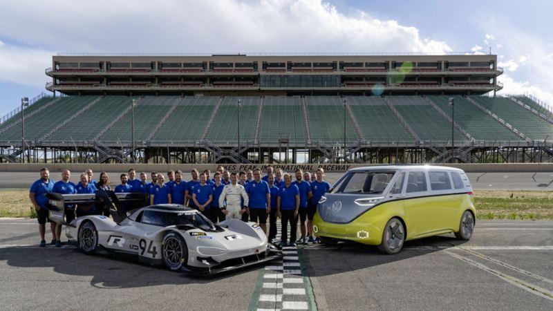 Volkswagen przygotowuje się do ustanowienia nowego rekordu dla samochodów elektrycznych na północnej pętli toru Nürburgring