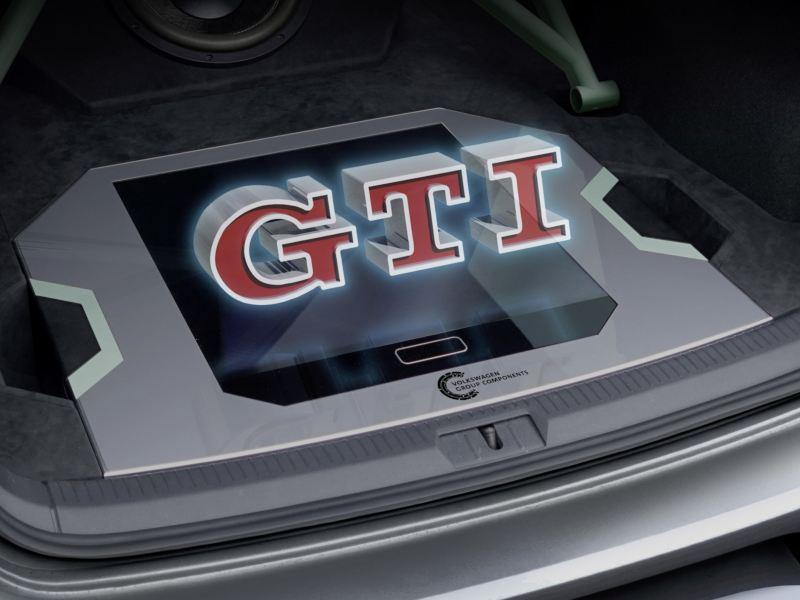 Światowa premiera: Światło i przestrzeń – hologram w Golfie GTI