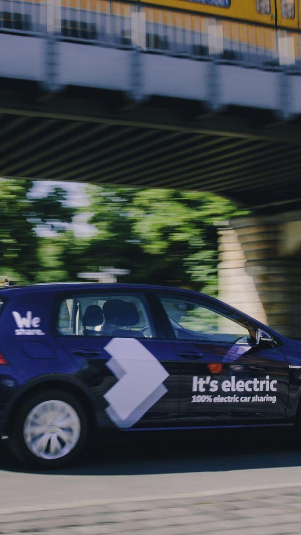Volkswagen uruchamia w Berlinie usługę carsharingu samochodów elektrycznych