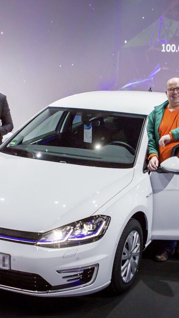 Volkswagen dostarczył 100-tysięcznego e-Golfa