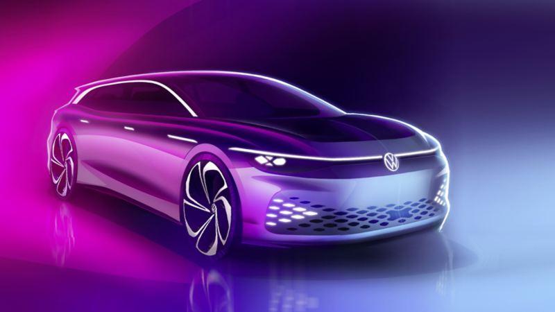 Debiut elektrycznego ID. SPACE VIZZION podczas Los Angeles Auto Show