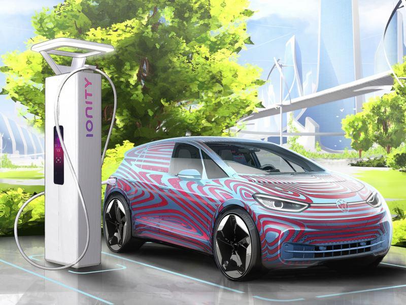 Volkswagen zamierza uruchomić w Europie 36.000 punktów ładowania samochodów elektrycznych