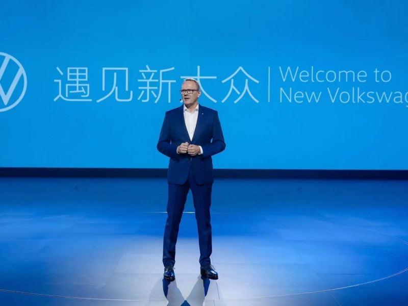 Volkswagen aktywny w Chinach: więcej nowych zelektryfikowanych modeli