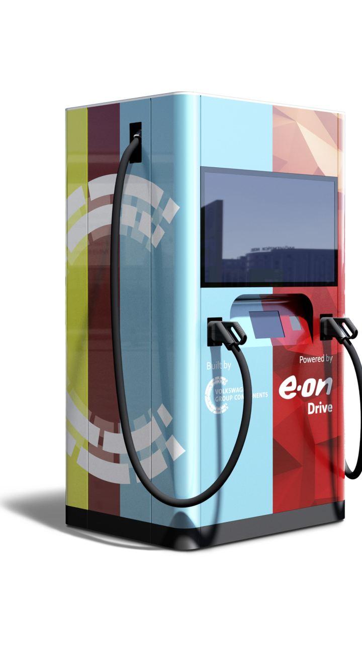 Volkswagen Group Components i E.ON opracowały innowacyjną stację szybkiego ładowania samochodów elektrycznych