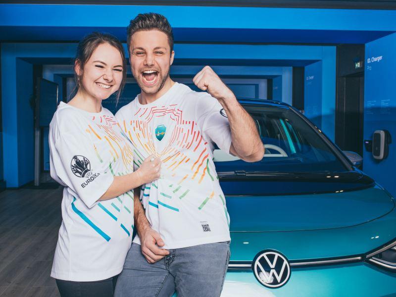 Volkswagen napędza UEFA EURO 2020: specjalna koszulka jako... bilet
